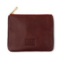 Leather&Paper Bordo Deri Mini Çanta