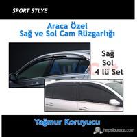 Hyundai Accent Era Sport Style Oto Cam Rüzgarlığı Ön/Arka Mugen Model 4'lü Set