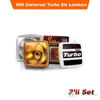 AutoCet 009 Turbo Sis Lambası 2'Li Set (SARI) (26085)