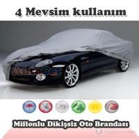 AutoCet Miflonlu,Dikişsiz Araç Brandası (Boyut: 4.40 x 1.65 x 1.45 m) 3056a