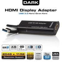 Dark UGA32 HDMI USB 3.0 / 2.0 Harici Ekran Kartı (DK-AC-UGA32)