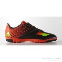 Adidas Af4669 Messi 15.3 Tf J Cblack/Sgreen/Solred Hali Saha Ayakkabısı