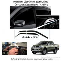 Schwer Mitsubishi L200 Triton Pick-Up (2008-2011) Ön-Arka 4 Cam Rüzgarlık Seti-8208
