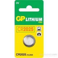 GP CR2025 Kod Kumanda Pili 103365