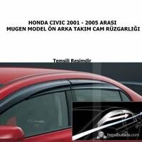 Honda Civic 2001 -2005 Arası Mugen Model Cam Rüzgarlığı