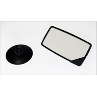 Z tech İç Dış Kullanım uyumlu Vantuzlu Ayna 12x6 cm