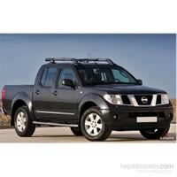 S-Dizayn Nissan Navara Kapı Koruma Çıtası Krom P.Çelik + Abs Plastik 8 Prç.