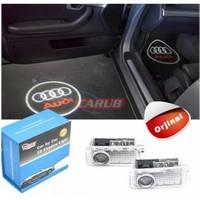 Kapı Altı Logo Audi Araca Özel Orjinal Aparatlı