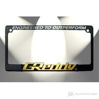 Greddy Logo Kare Plakalık 14355 (Sarı Yazılı)