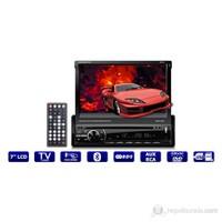 Kamosonic KS-7910 7'' Indash TV-Bluetooth-USB-SD-DIVX Görüntü Sistemi