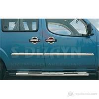 S-Dizayn Fiat Doblo 2000-2010 Model ve Arası Kapı Kolu 3 Kapı Krom P.Çelik