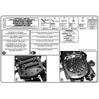 Gıvı E528m Suzukı Dl 650-1000 V-Strom (02-11) - Kawasakı Klv 1000 (04-10) Arka Çanta Tasıyıcı