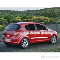 S-Dizayn Opel Corsa D Cam Çıtası 4 Prç. P.Çelik (2007>)