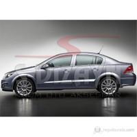 S-Dizayn Opel Astra H Yan Kapı Çıtası 4 Prç. P.Çelik SEDAN (2008>)