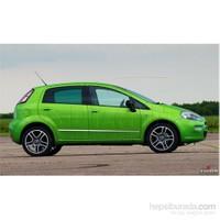 S-Dizayn Fiat Grande Punto Kapı Koruma Çıtası Krom P.Çelik + Abs Plastik 8 Prç.