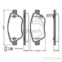 Bosch - Fren Balatası Ön (Opel Corsa D 1.0I) [ 123,0X53,3X17,8 Mm ] - Bsc 0 986 Tb2 960