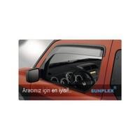 Fiat Albea Ön-Arka Ön Cam Rüzgarlığı Seti (Yağmur Koruyucu)