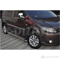 S-Dizayn Vw Caddy Yan Kapı Çıtası 4 Prç. P.Çelik (MAXI) (2007-2010)