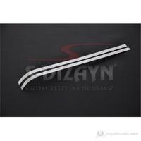 S-Dizayn Peugeot Partner Tepee Sürgülü Kapı Çıtası 2 Prç. P.Çelik (2008>)
