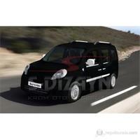 S-Dizayn Renault Kangoo Ayna Kapağı 2 Prç. Abs Krom (2008>)