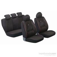Pufi Universal Ortopedik Premium Boss Sport Koltuk Kılıfı Siyah