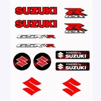 Tex Txss 02 Xrace Suzuki Silikon Stiker Seti