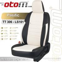 Otom Skoda Super B 2013-2015 Pasific Design Araca Özel Deri Koltuk Kılıfı Kırık Beyaz-101