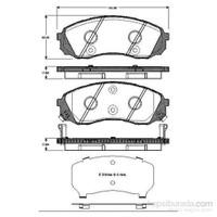 Bosch - Fren Balatası Ön Hyundai H-1 2.5 Crdi 2008> - Bsc 0 986 Tb3 043