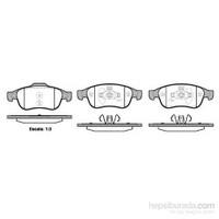 Bosch - Fren Balatası Ön Megan Iıı-Fluence-Duster-Scenıc Iıı 1.6 2.0 16V 1.5 Dcı 09>Kulaklı - Bsc 0 986 Tb3 116