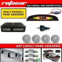 Rotacar Park Sensörü Gri Lensli Led Ekranlı Rt233g