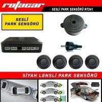 Rotacar Bazırlı Ekransız Park Sensörü Siyah Lensli Rt241