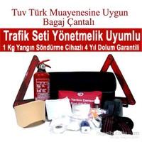 Rotacar Araç Muayenesine Uygun Bagaj Çantalı Trafik Seti