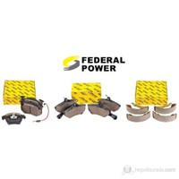 Federal Power - Opel Meriva 2002 Sonrası Fren Balata Takımı Ön