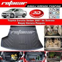 Toyota Corolla Sedan 2007-2012 Bagaj Havuzu Paspası