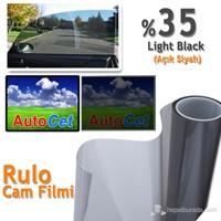AutoCet 152 cm 6 MT Renkli Rulo Cam Filmi Açık Siyah % 35 L.Black (25319)