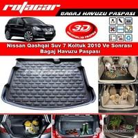 Nissan Qashqai Suv 7 Koltuk 2010 Ve Sonrası Bagaj Havuzu Paspası BG0115