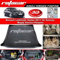 Renault Lattitude Sedan 2011 Ve Sonrası Bagaj Havuzu Paspası BG0155