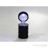 Space Işıklı Küllük / Kristal Desenli