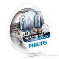 Philips H4 Tip CRYSTAL VISION Ampül Seti 011295