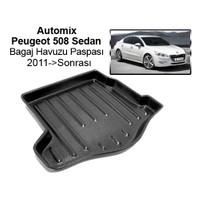 Automix Peugeot 508 Sedan Bagaj Havuzu Paspası 2011->Sonrası