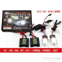 Space Canbus Xenon Kit H27-8000K 12V-AC 35W