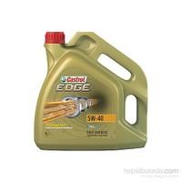 Castrol Edge 5w40 Benzinli - Dizel Motor Yağı 4 lt (Üretim Yılı: 2017)