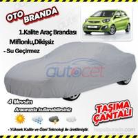 Autocet Kia Picanto Araca Özel Oto Brandası (Miflonlu, Dikişsiz) 4037A