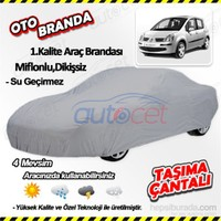 Autocet Renault Modus Araca Özel Oto Brandası (Miflonlu, Dikişsiz) 4116A