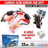 AutoCet Can-Bus H7 6000K Xenon Far Seti İnce Slim Dijital Balats 4172a