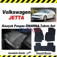 Volkswagen JETTA Kauçuk Ön / Arka Araca Özel Paspas Seti
