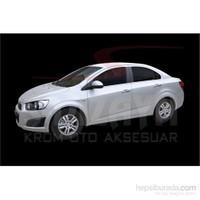 S-Dizayn Chevrolet Aveo Sd 2011> Model Ve Üzeri Kapı Kolu 4 Kapı Krom P.Çelik