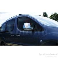 S-Dizayn Citroen Berlingo (2008 - 2011 ) Ayna Kapağı 2 Prç. Abs Krom (09.2008 - 2011 )