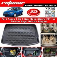 Ford Focus Hb 5 Kapı Kalın Stepne 2011 Ve Sonrası Bagaj Havuzu Paspası BG053