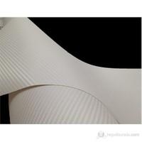 AutoFolyo Beyaz Karbon Folyo 127X100 Cm